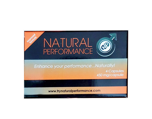 Natural Performance Male Plus (Qty 4)