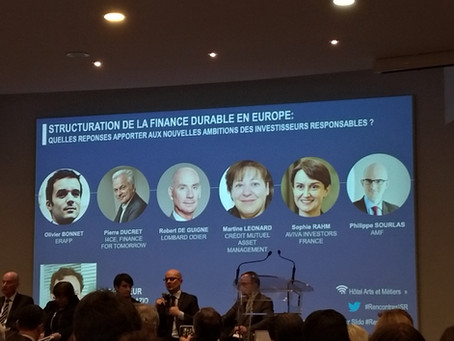 La finance s'empare de la #RSE !