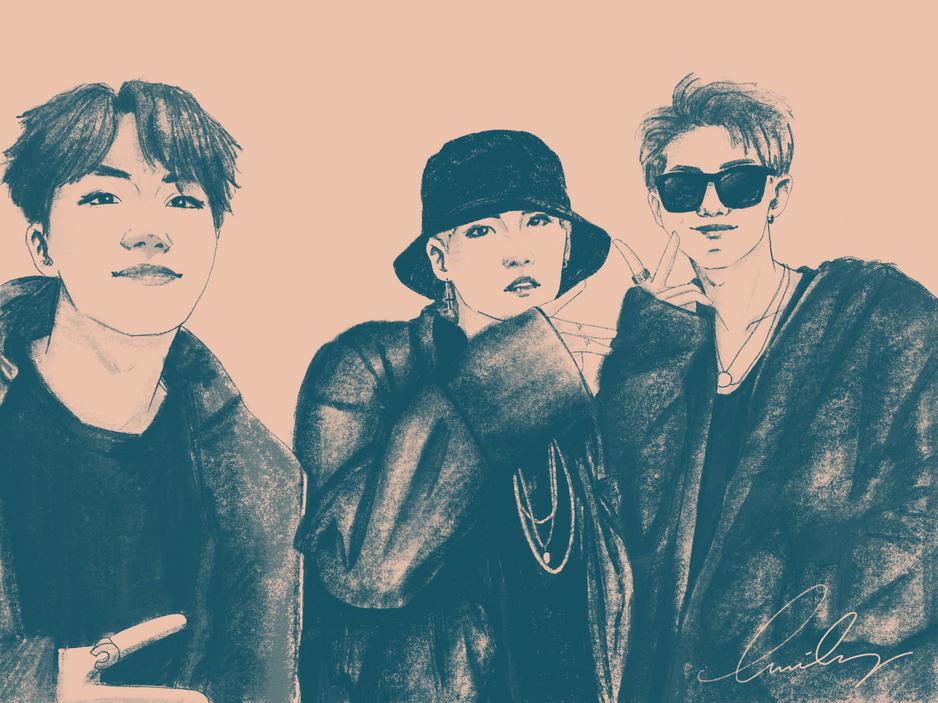 J-Hope x Suga x RM | BTS