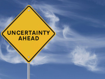 HOW TO LIVE WITH UNCERTAINTY