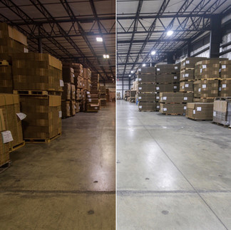 WAREHOUSE (Before/After)