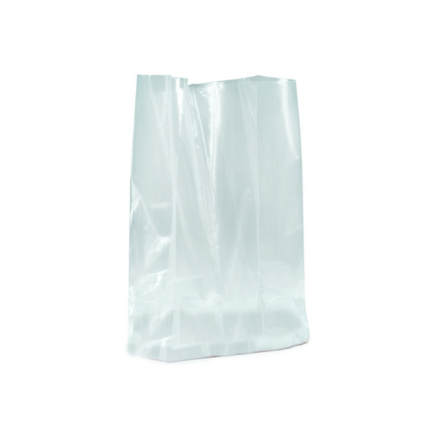GUSSETTED POLY BAG