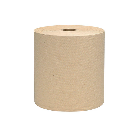 HARDWOUND PAPER TOWEL, BROWN