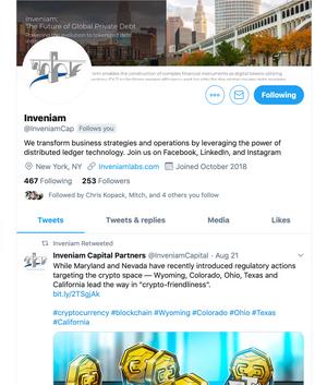 Inveniam Twitter