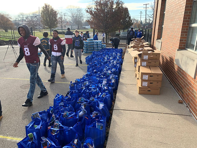 Thanksgiving Meal Drive