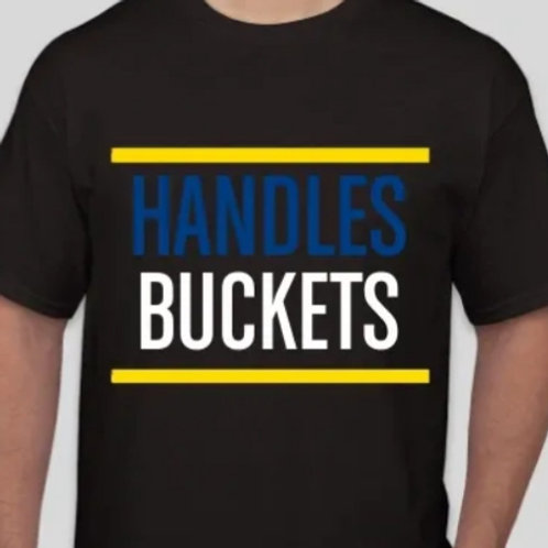 Run DMC Style Handles -Buckets Tee