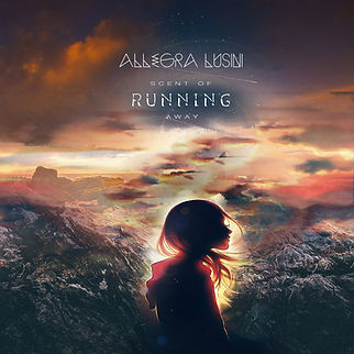 Allegra Lusini Dunkle Nacht Cover copertina album