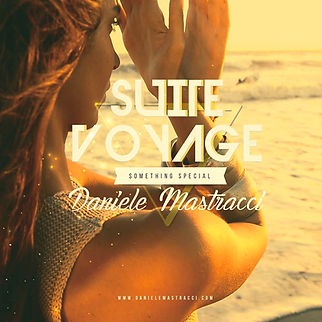 "copertina album di Daniele Mastracci "" suite voyage"""
