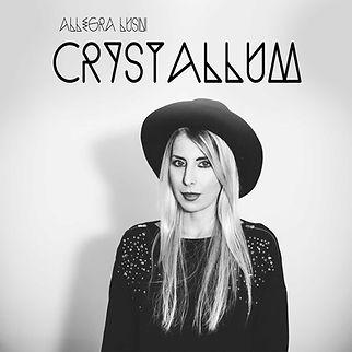 Allegra Lusini Crystallum Cover copertina album