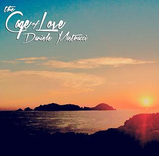 """copertina album di Daniele Mastracci """" The cage of love"""""""