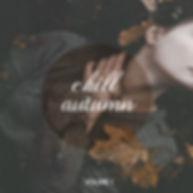 """copertina album di Allegra Lusini """" chill autumn vol.1"""""""