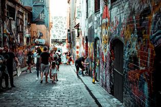Graffiti Lane Melbourne Wanderlust City