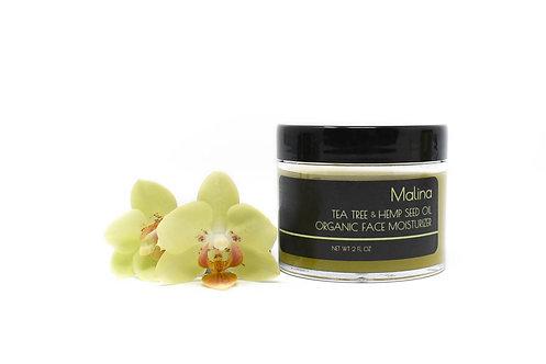 Tea Tree & Hemp Seed Oil Face Moisturizer, 2 fl oz