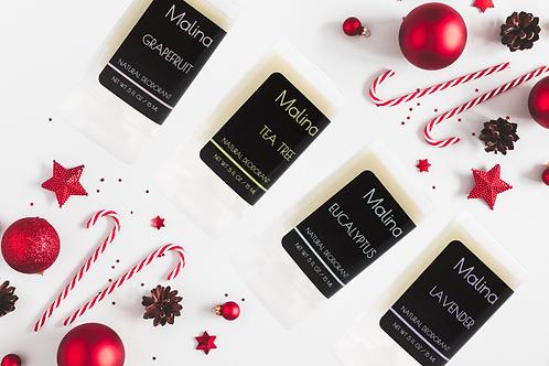 Natural Deodorant Sample Gift Set