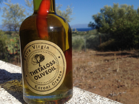 Thetaloss Olivenöl mit Chile