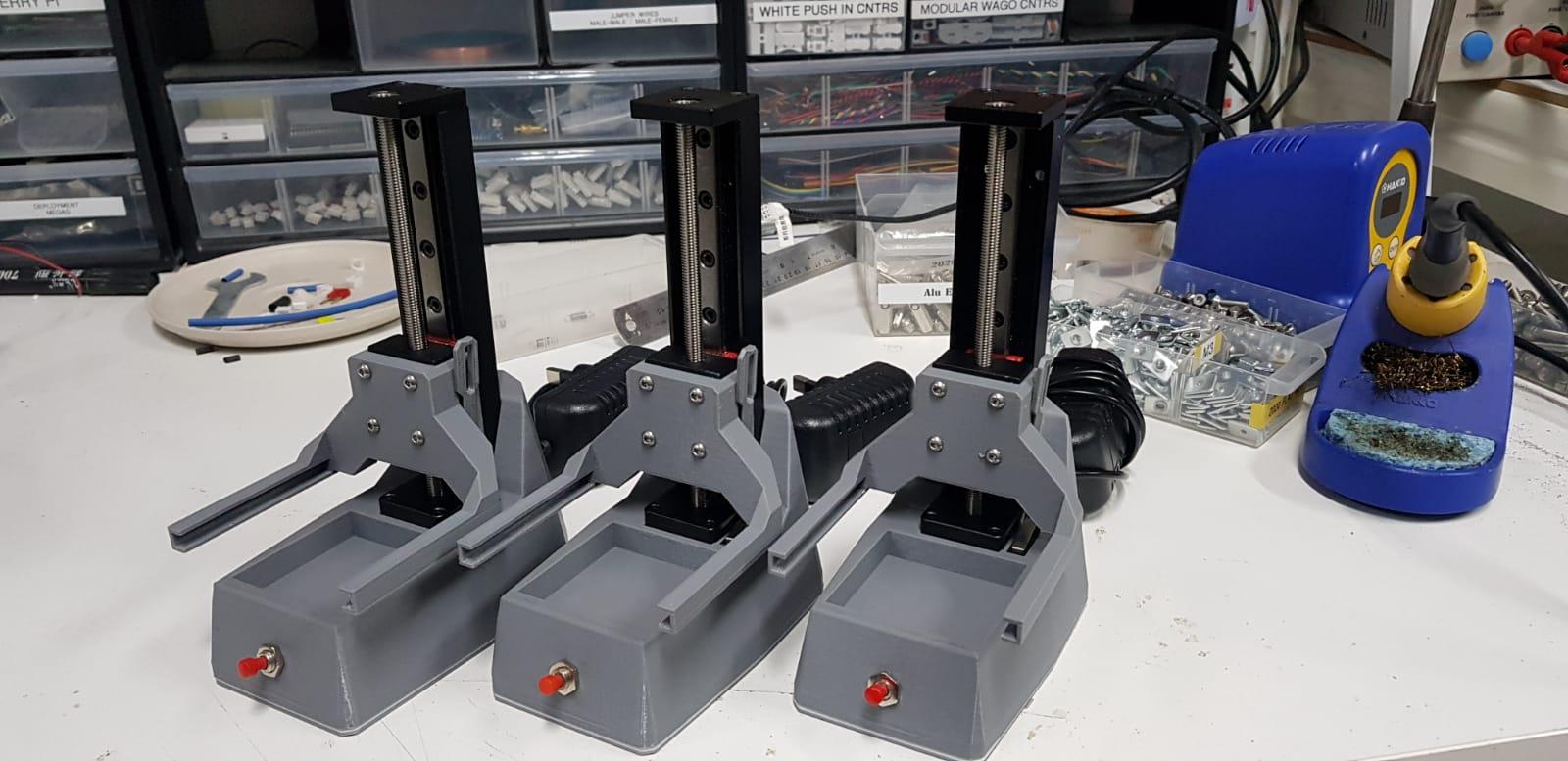 Automated Sensor Testing Rig