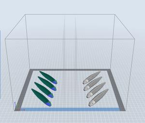 FlashForge Creator 3 Mirror Mode 3D Printing