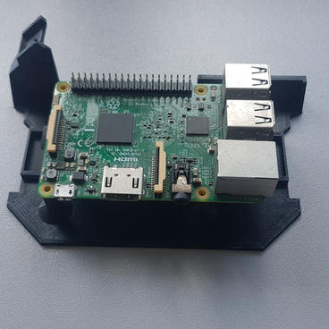 Fixture for Raspberry Pi
