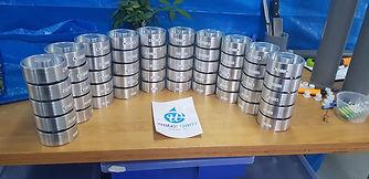 machining of aluminium for water roam by