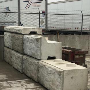 Landscape Recessed Block