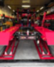 NV Auto Garage Hamilton laser alignment rack