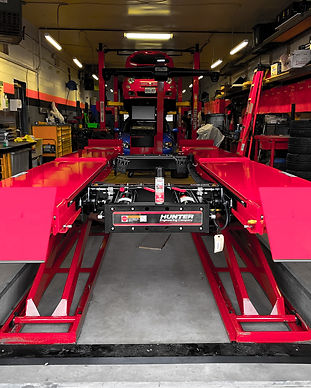 NV Auto Garage Hamilton laser alignment rack