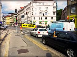 Werbeaktion Wien 2