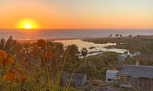 Todos Santos sunset from Los Colibris Ca