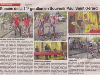 """Gentlemen Puy l'Evêque - Article """"Le petit journal"""" :"""