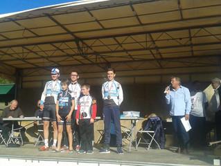 Championnats du Lot de cyclo cross - résultats :