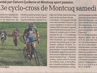 Cyclocross de Montcuq - Présentation :