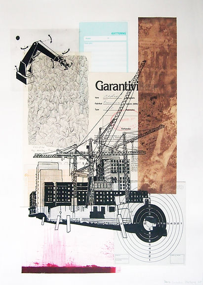 Diary, Construction 40x50 cm