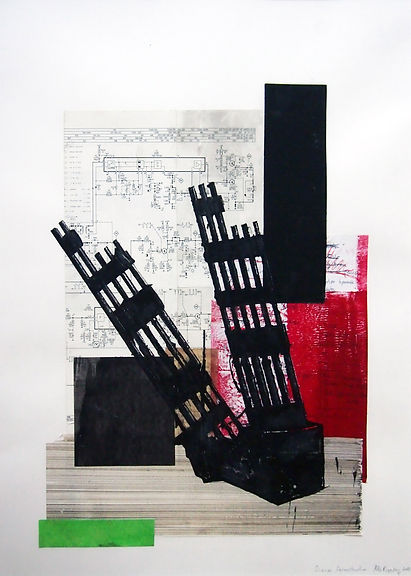 Diary, Deconstruction 40x50 cm