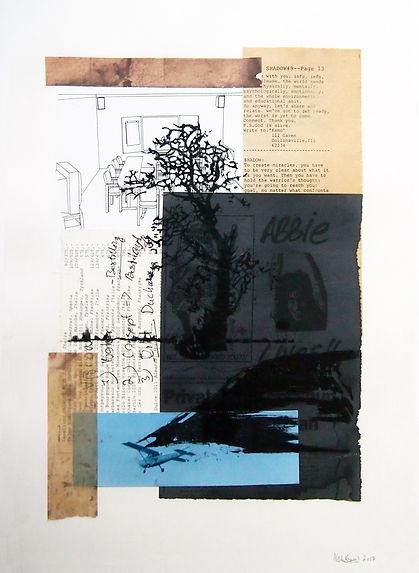 Diary VIII     30x40 cm