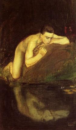 magnus-enckell--narcissos