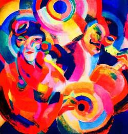 Sonia-Delaunay-sarah-Ilinitchna-Stern-Flamenco-singer