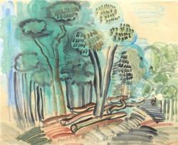 raoul-dufy-les-arbres