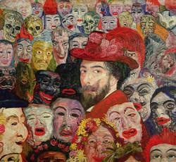 self-portrait-with-masks-james-ensor