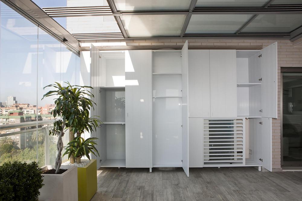 Muebles aluminio Sevilla Alselux