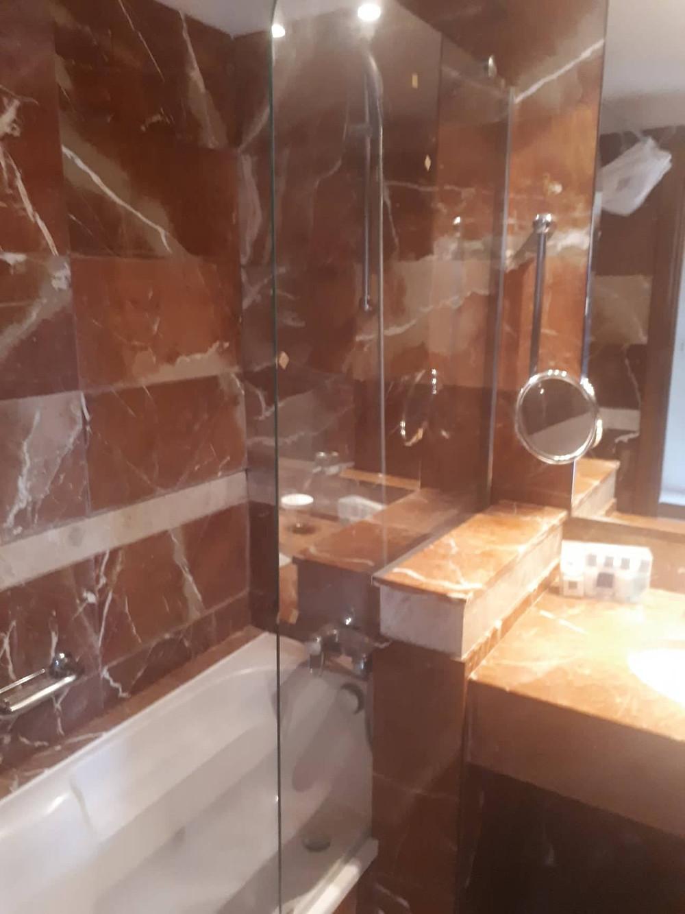 mamparas ducha hotel sevilla alselux spartic