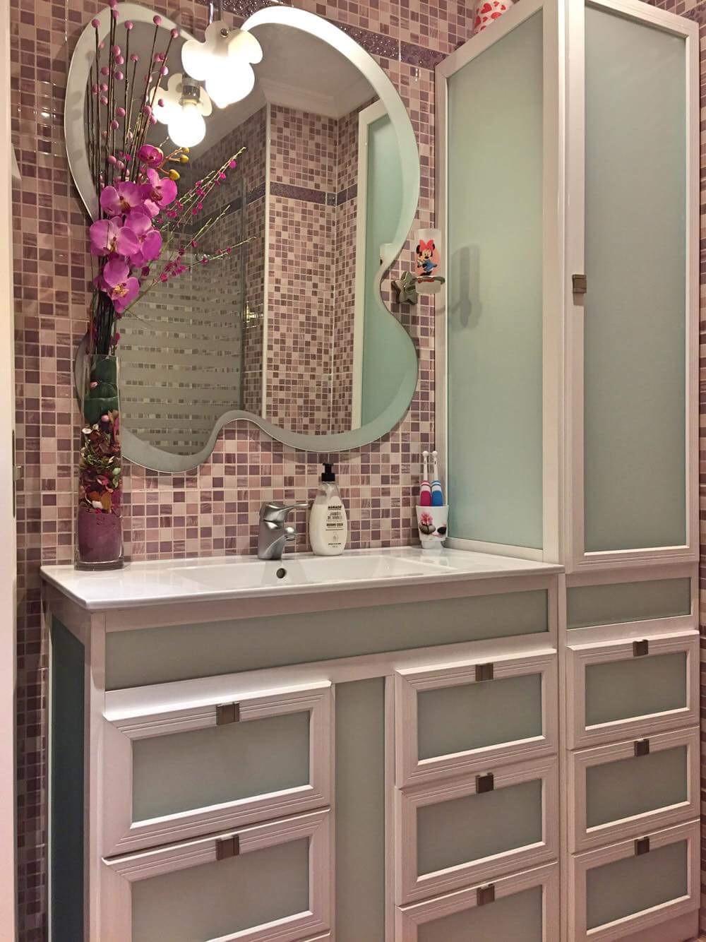 Muebles baño aluminio sevilla alselux