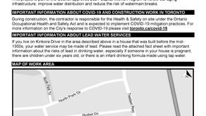 Kinkora Drive: Watermain Replacement and Road Resurfacing