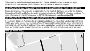 Seabrook Ave: Watermain Replacement & Road Resurfacing