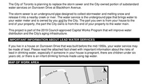 CONSTRUCTION - Storm Sewer Replacement on Dunraven at Blackthorn