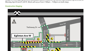 Concrete Pours at Keelesdale Station April 8 and 9, 2019