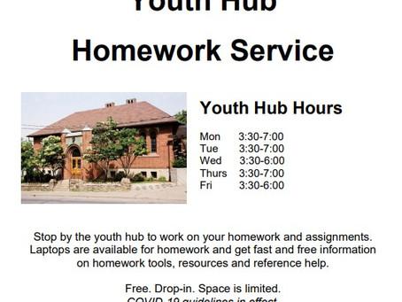 Weston Youth Hub Launches November 16!