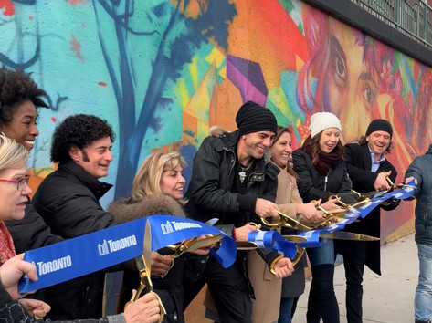 Rogers Road Mural Unveiling