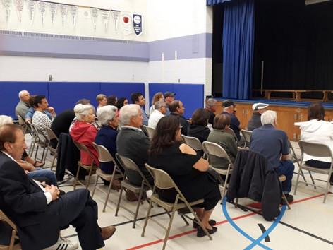 Maple Leaf area traffic mitigation meeting