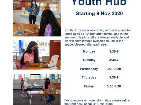 Mount Dennis Youth Hub opens November 9th!