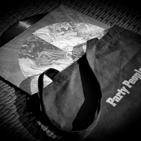 Party People - Black Tote Bag